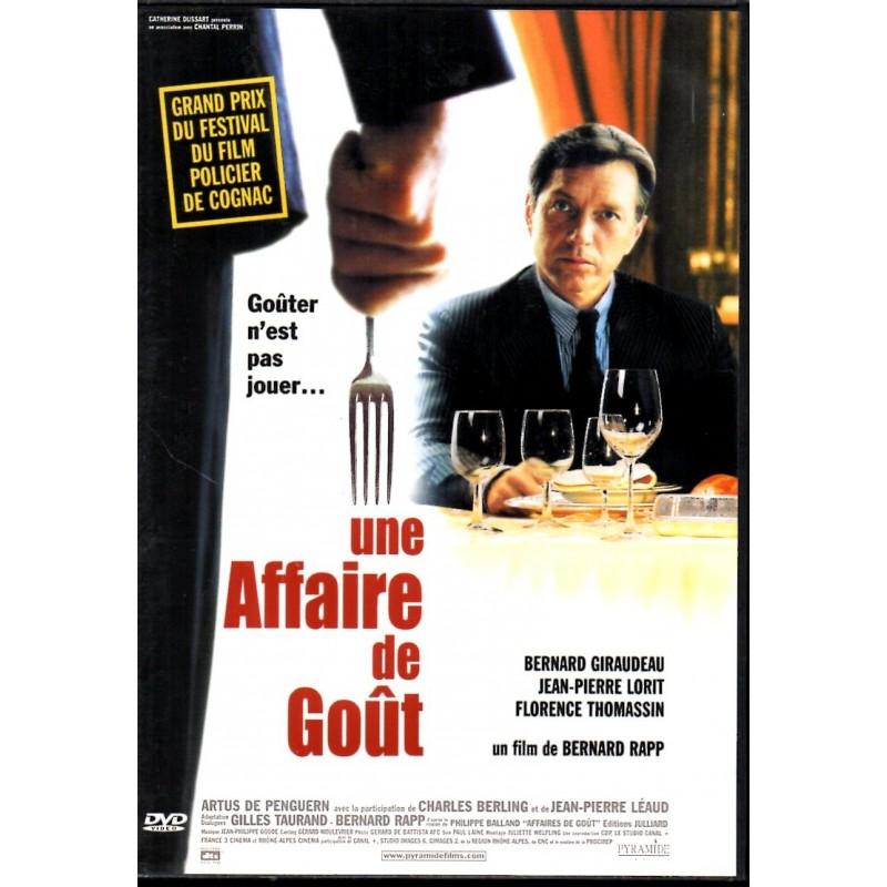 Une Affaire de Goût (Bernard Giraudeau, Jean-Pierre Lorit) - DVD Zone 2