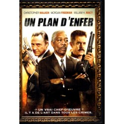 Un Plan d'Enfer (Christopher Walken, Morgan Freeman) - DVD Zone 2