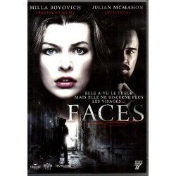 Faces (Milla Jovovich & Julian McMahon) - DVD Zone 2