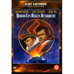 Quand les Aigles Attaquent (Richard Burton, Clint Eastwood) - DVD Zone 2