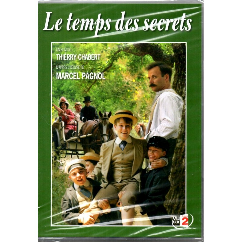 Le Temps des secrets (d'après l'oeuvre de Marcel Pagnol) - DVD Zone 2