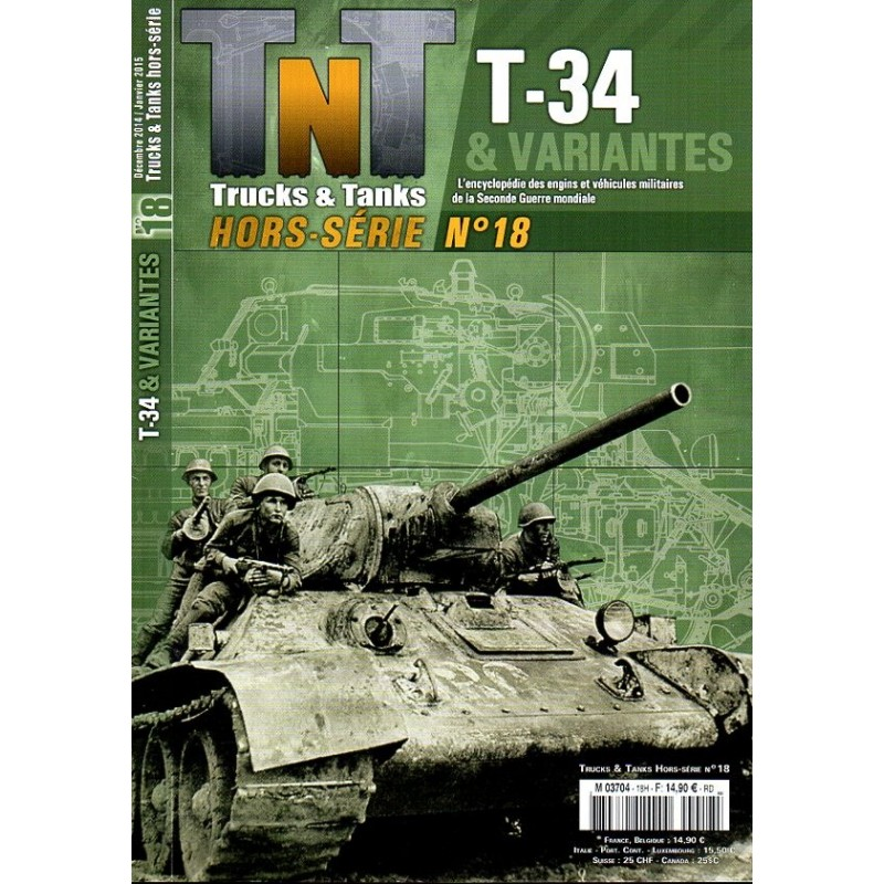 TNT Trucks & Tanks n° 18H - T34 & variantes