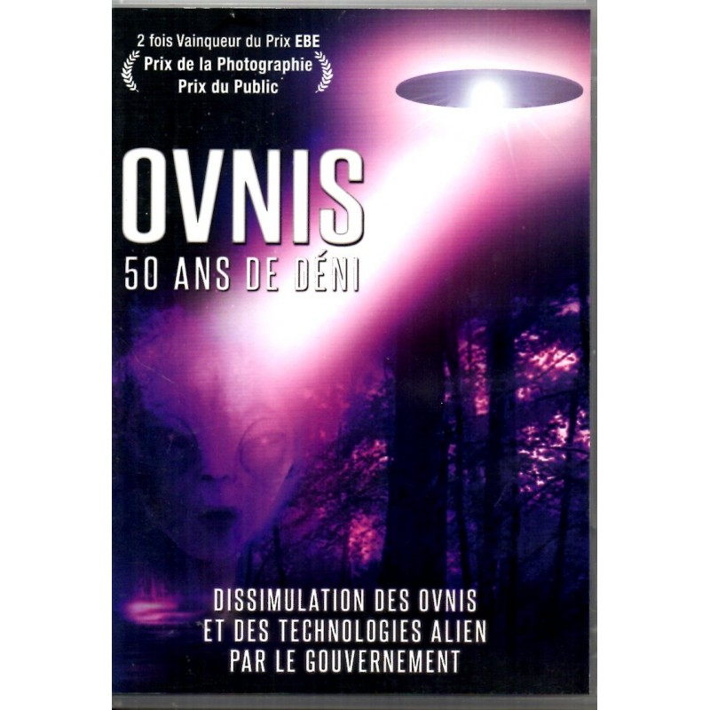 Ovnis, 50 ans de déni (Documentaire) - DVD Zone 2