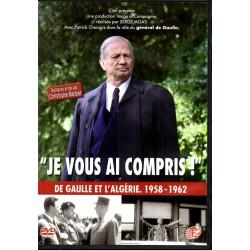 """""""Je vous ai compris"""" (Dans le rôle du Général de Gaulle, Patrick Chesnais) - DVD Zone 2"""