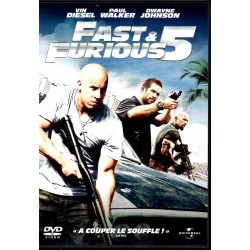 Fast & Furious 5 - (Vin Diesel, Paul Walker & Dwayne Johnson) - DVD Zone 2