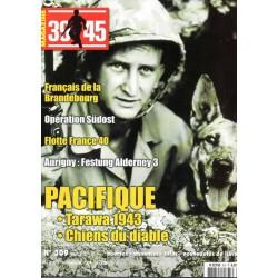 Magazine 39-45  n° 309 - Pacifique, Tarawa 1943 & Chiens du diable
