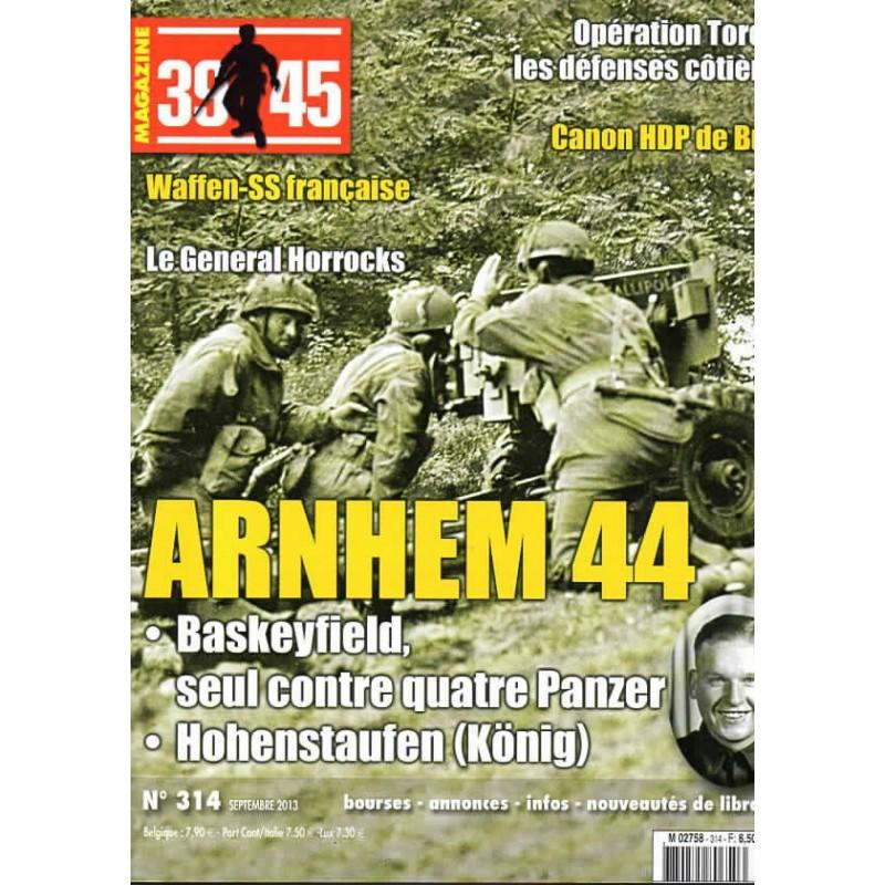 Magazine 39-45  n° 314 - ARNHEM 1944