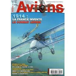Avions n° 200 - 1914 : La France invente le combat aérien