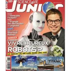 Science & Vie Junior n° 285 - Vivre heureux avec les robots