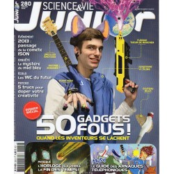 Science & Vie Junior n° 280 S - 50 gadgets fous !