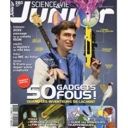 Science & Vie Junior n° 280 S - 50 gadgets fous !