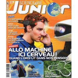 Science & Vie Junior n° 278 - Quand l'ordinateur lit dans nos pensées