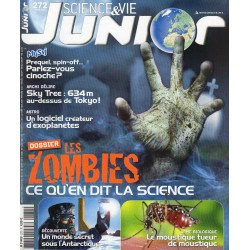 Science & Vie Junior n° 272 - Les Zombies, ce qu'en dit la science
