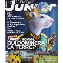 Science & Vie Junior n° 270 - Après l'homme, qui dominera la Terre ?