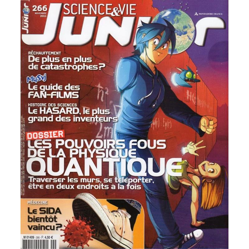 Science & Vie Junior n° 266 - Les pouvoirs fous de la physique quantique