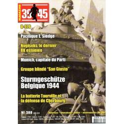 Magazine 39-45  n° 288 - Strumgeschütze Belgique 1944
