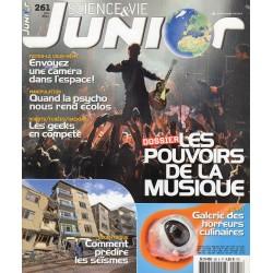 Science & Vie Junior n° 261 - Les pouvoirs de la musique