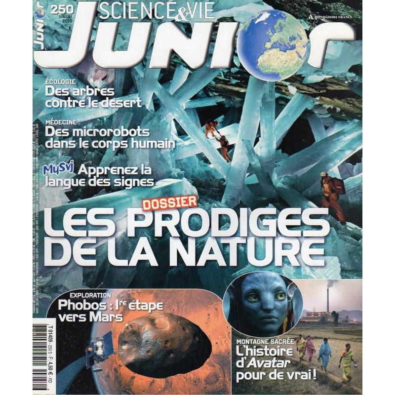 Science & Vie Junior n° 250 - Les prodiges de la Nature