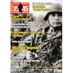 Magazine 39-45  n° 285 - Mai 1945 : Degrelle, la fuite
