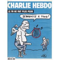 Charlie Hebdo n° 1180 - Le FN ne fait plus peur
