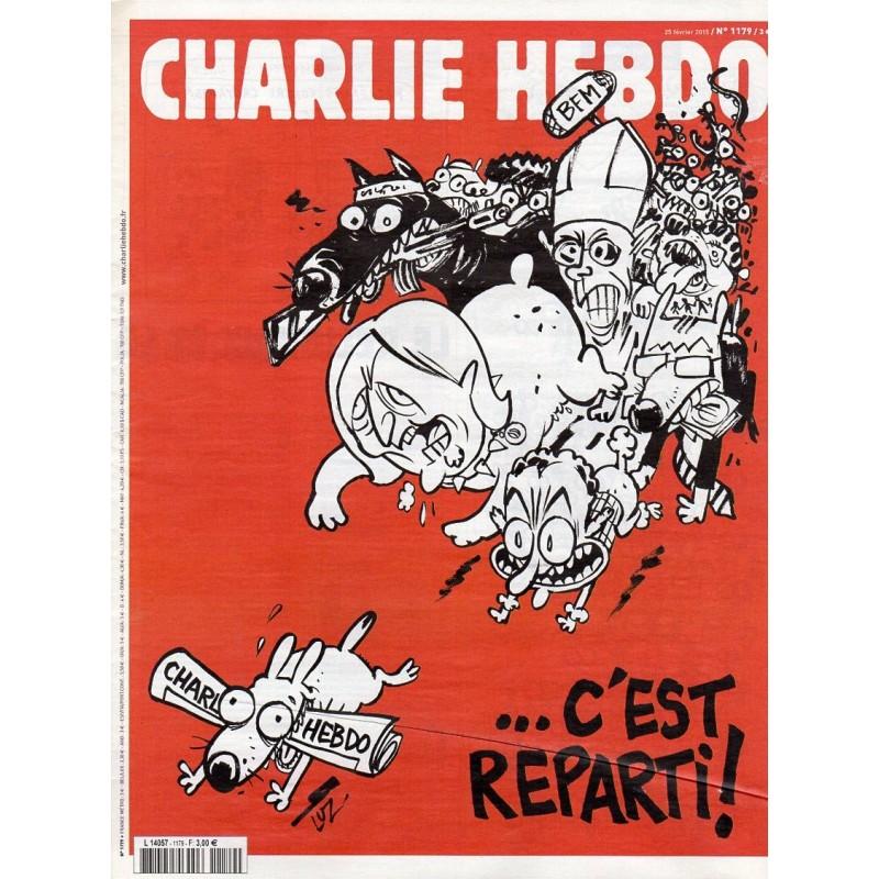 Charlie Hebdo n° 1179 - C'est reparti !