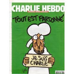 Charlie Hebdo n° 1178 H - Tout est pardonné ! Je suis Charlie