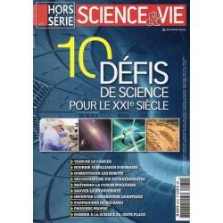 Science & Vie Hors série n° 281 - 10 défis de science pour le XXIe siècle
