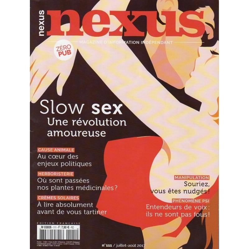 Nexus n°111 - Slow sex, une révolution amoureuse