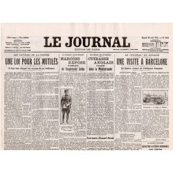 29 avril 1916 - Le Journal (4 pages)