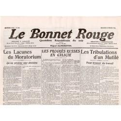 16 février 1916 - Le Bonnet Rouge (2 pages)