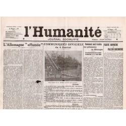 5 janvier 1915 - L'Humanité (4 pages)