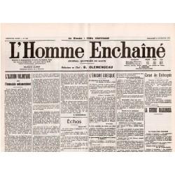 10 novembre 1915 - L'Homme Enchaîné (2 pages)