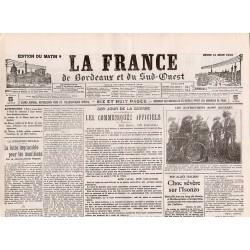 24 juin 1915 - La France de Bordeaux et du Sud-Ouest (4 pages)