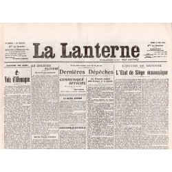 31 mai 1915 - La Lanterne (2 pages)