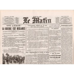 24 mai 1915 - Le Matin (4 pages)