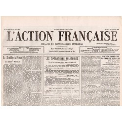 2 septembre 1915 - L'Action Française (4 pages)