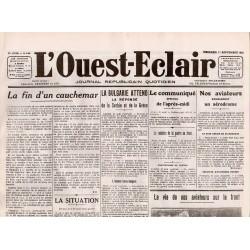 1 septembre 1915 - L'Ouest-Eclair (4 pages)