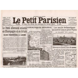 27 septembre 1915 - Le Petit Parisien (4 pages)