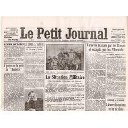 7 août 1915 - Le Petit Journal (4 pages)