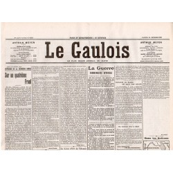 25 septembre 1915 - Le Gaulois (4 pages)