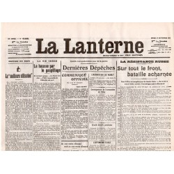 21 septembre 1915 - La Lanterne (2 pages)