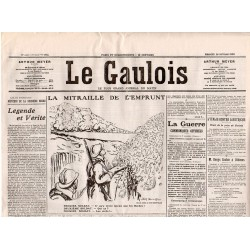 28 novembre 1915 - Le Gaulois (4 pages)