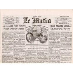 23 février 1916 - Le Matin (4 pages)