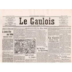 16 mars 1916 - Le Gaulois (4 pages)