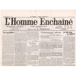 3 avril 1916 - L'Homme Enchaîné (2 pages)
