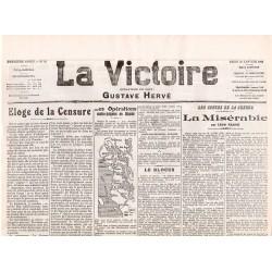 27 janvier 1916 - La Victoire (2 pages)