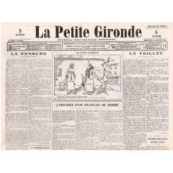 26 janvier 1916 - La Petite Gironde (4 pages)