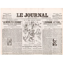1 mai 1916 - Le Journal (4 pages)
