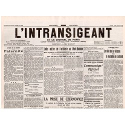19 juin 1916 - L'Intransigeant (2 pages)