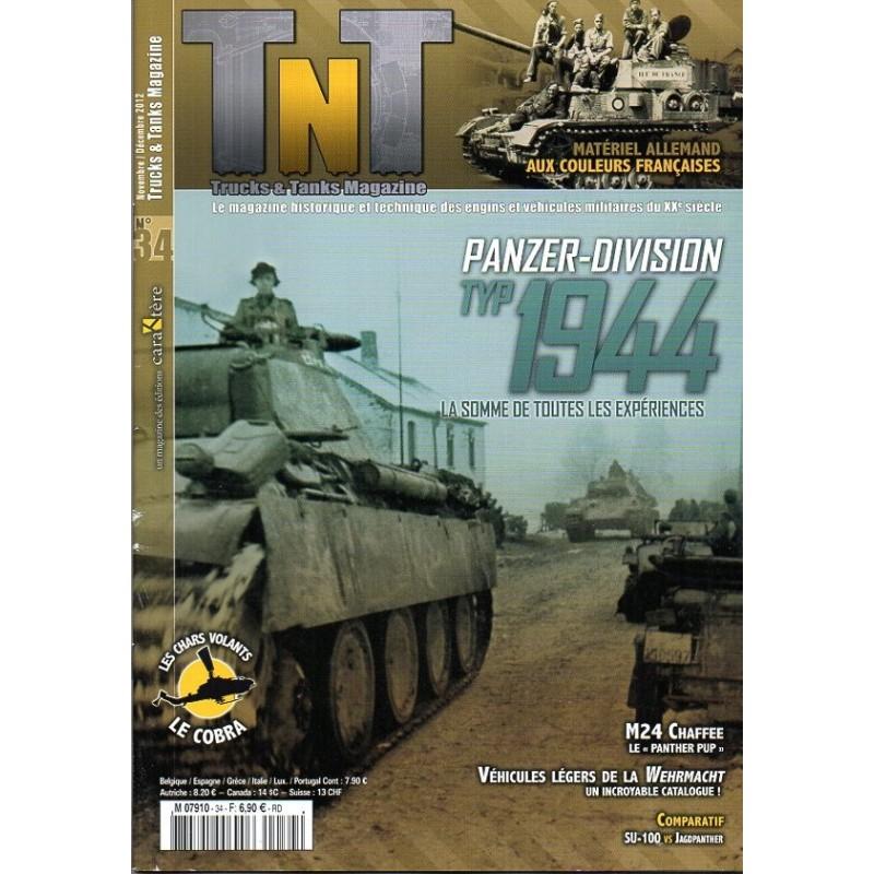 TNT Trucks & Tanks n° 34 - Panzer-divison TYP 1944, la somme de toutes les expériences